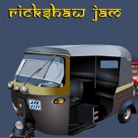 Rickshaw Jam Game - Parking Games