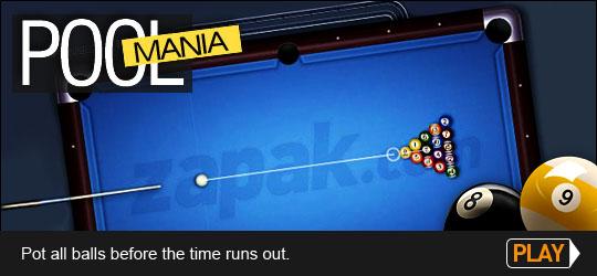 Pool Mania Game