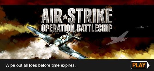 Air Strike Operation Battleship Game