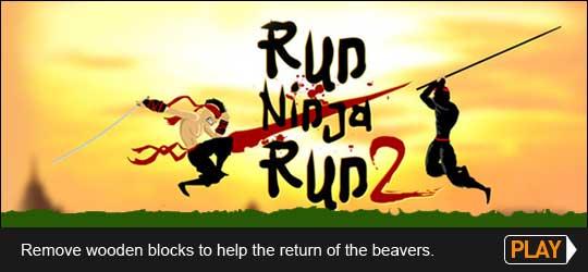 Run Ninja Run Game
