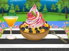Frozen Yogurt Game - Online Games