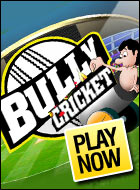 Free online games :Bully Cricket Game