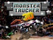Monster Trucker 3D Game - Drawing Games
