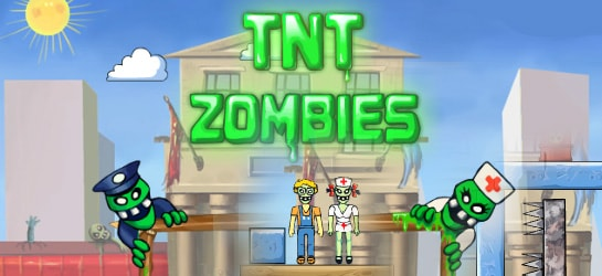 TNT Zombies Game - Zombie Games
