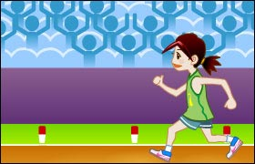 100m Running Game - Running Games