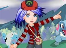 Pokemon Trainer Cutie Game - Girls Games