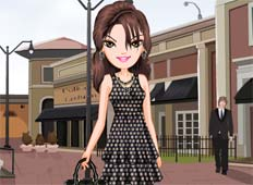 Polka Dots Fashion Game - Girls Games
