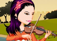 Violinist Priscilla Game - Girls Games