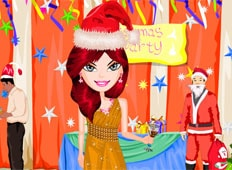 Christmas Party Dress Up Game - Girls Games