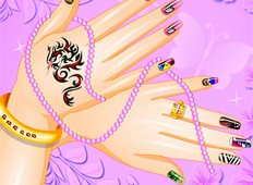 Spring Nails Fashion Game - Girls Games