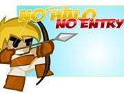 No Halo No Entry Game - New Games