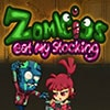 Zombies Eat My Stocking Game - Fighting Games