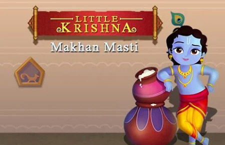 Little Krishna Makhan Masti Game - Android Games