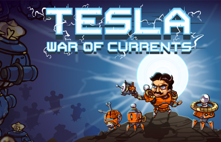 Tesla War of Currents Game - Action Games