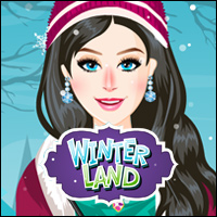 Winter Land Game - Girls Games