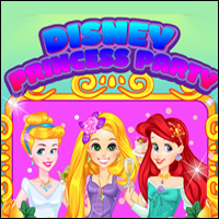 Disney Princesses Party Game - Girls Games