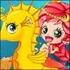 Mermaid & Seahorse Game - Girls Games