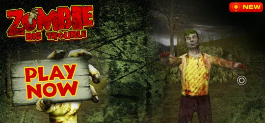 Zombie Big Trouble Game - Action Games
