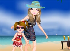 Holiday Beach Game - Girls Games