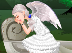 Sleeping Angel Game - Girls Games