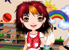 Sharon At Playschool Game - Girls Games