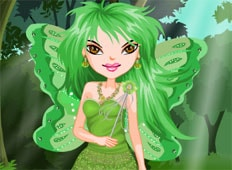 Green Fairy Game - Girls Games