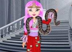 Snake Princess Game - Girls Games