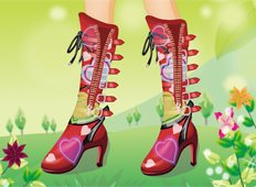 Boot Makeover Game - Girls Games