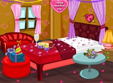 Crazy Valentine Bed Room Game - Girls Games