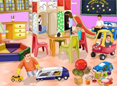 Kids Club Decoration Game - Girls Games