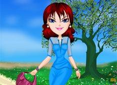 Sheer Spring Trends Game - Girls Games